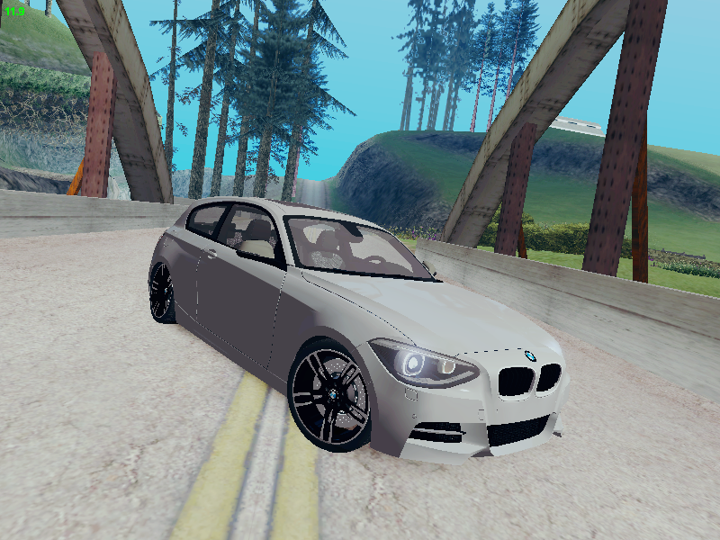 GTA SA - BMW M135i + Wheels Bmw M4