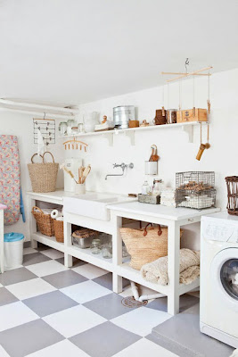 diseño de cuarto de lavado