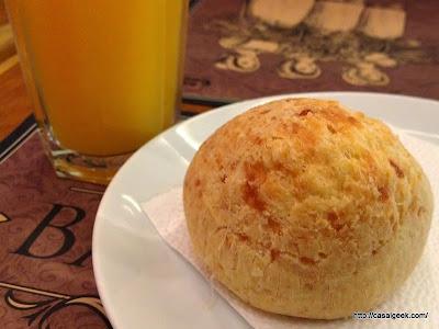 Pão de Queijo - Café Verdemar