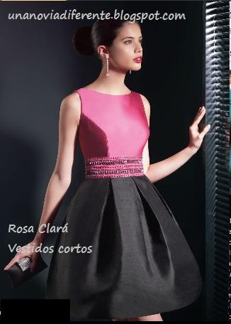 Vestidos de fiesta rebajados de rosa clara