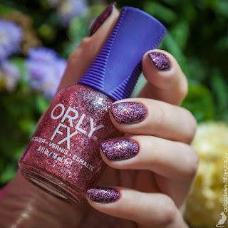 L'Oreal Color Riche #875 Kimono Empire + Orly Pink Your World