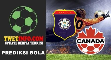 Prediksi Belize vs Canada, CONCACAF 09-09-2015
