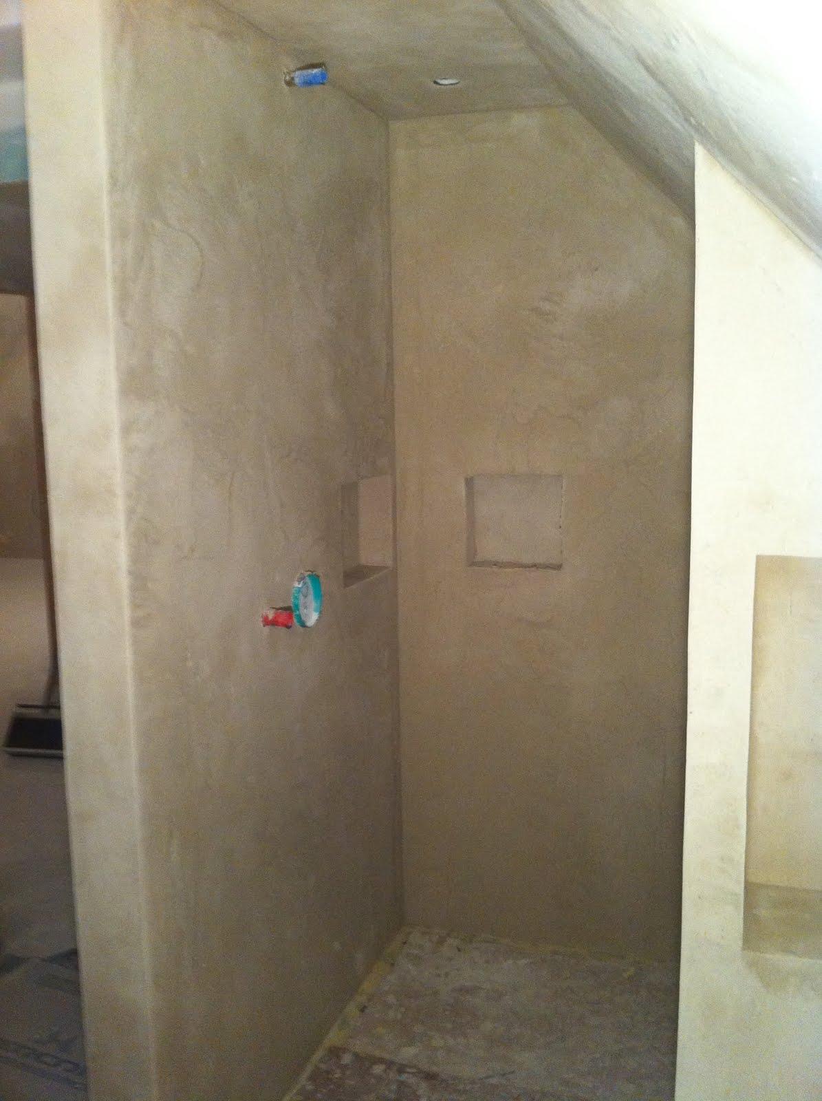 Mob ossature bois isolation energie domotique - Enduit mur salle de bain ...