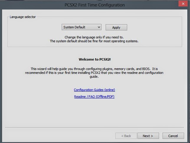 cara setting emulator PS2 dan download PCSX2