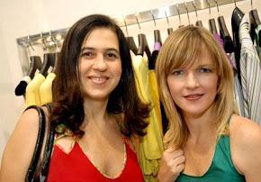 Rúbia Barbosa e Raquel Laureano