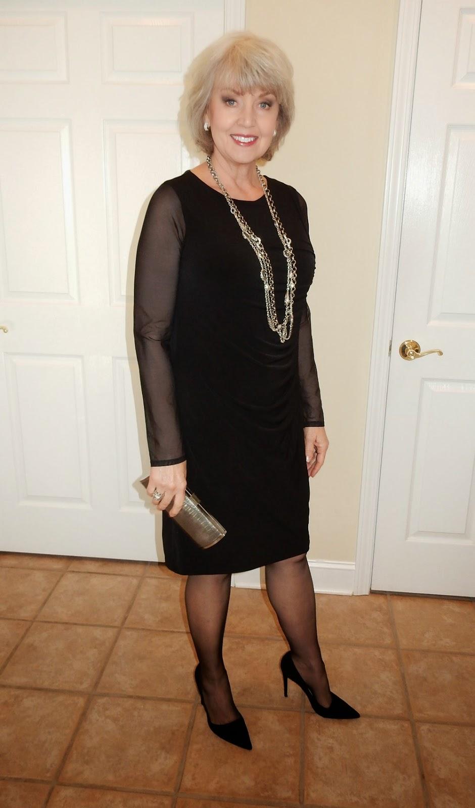 Fifty, not Frumpy: The Black Dress