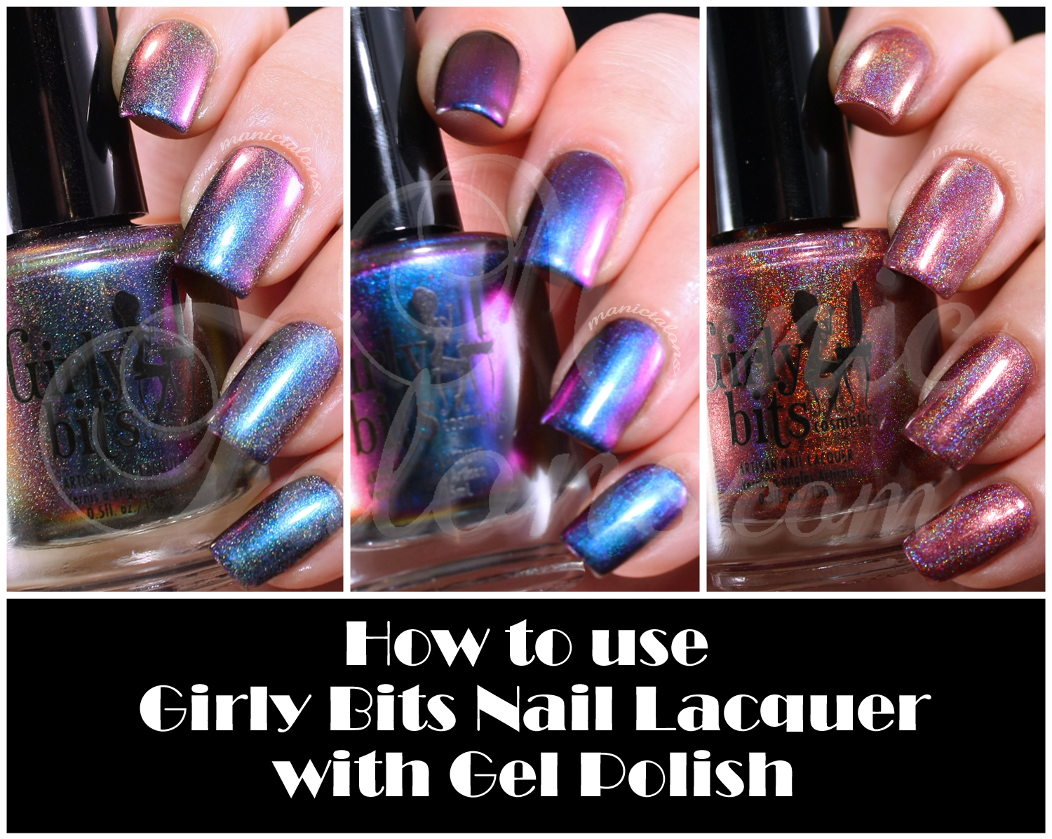Manic Talons Nail Design: A Perfect Pair: Girly Bits Nail Lacquer ...
