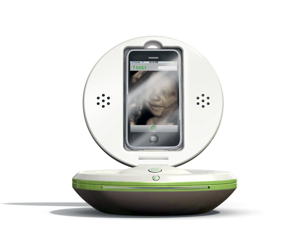 high tech 360 ibaby portable ultrasound device. Black Bedroom Furniture Sets. Home Design Ideas