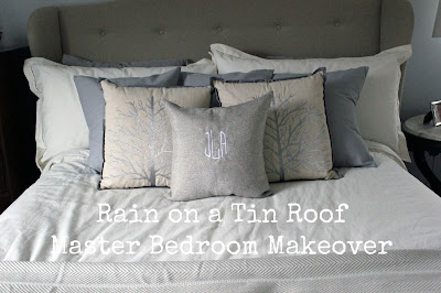 Master Bedroom Makeover: Bedding {rainonatinroof.com} #masterbedroom #bedroom #makeover #bedding