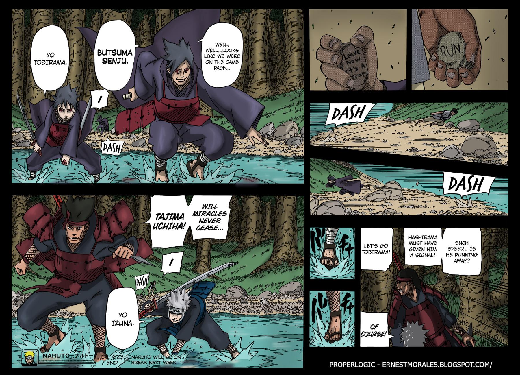 Naruto chap 628 Trang 21 - Mangak.info