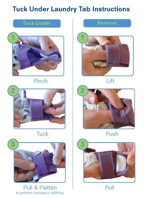 Laundry Instructions for GroVia Hybrid Snap Shell Diaper