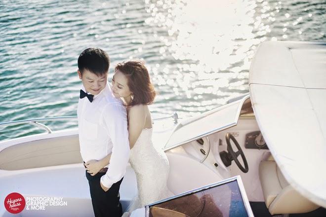 Ảnh cưới của Văn Quyến - Thúy Hằng đẹp quyến rũ
