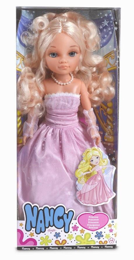 JUGUETES - NANCY - Princesa | Muñeca  Producto Oficial | Famosa 700011633 | A partir de 4 años
