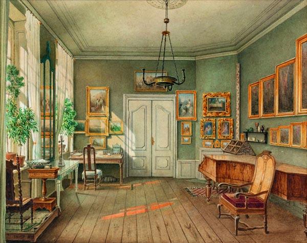Memoire vive int rieurs romantiques for Interieur 19eme siecle