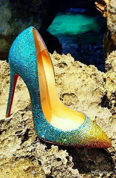 High Heel With Some Amazing Colors.