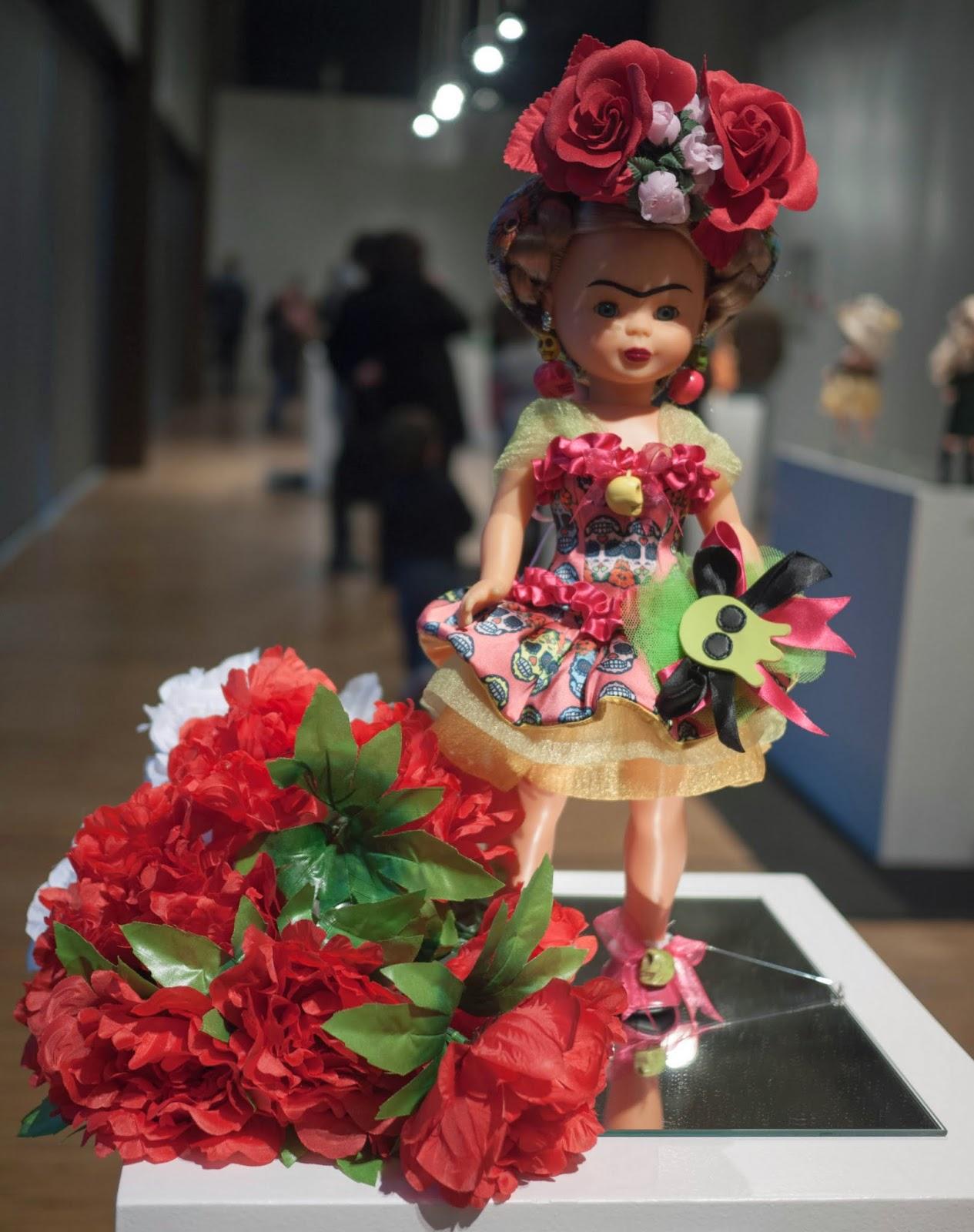 Nancy de Frida Kahlo por Maya Hansen