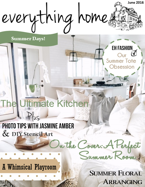 Everything Home Magazine June Issue!
