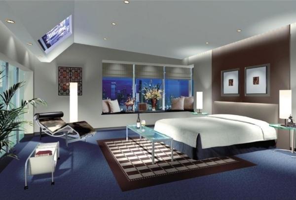 Dormitorios con paredes marrones dormitorios con estilo - Decorar habitacion principal ...