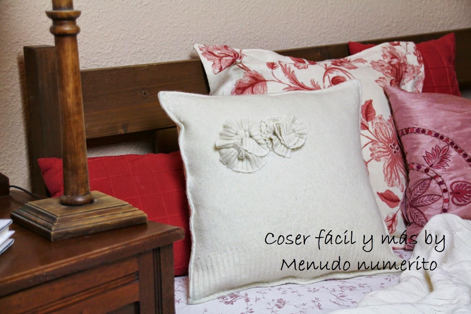 El blog de coser f cil y m s by menudo numerito - Cojines faciles de hacer ...