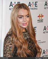 Lindsay Lohan spotted partying in Santa Monica