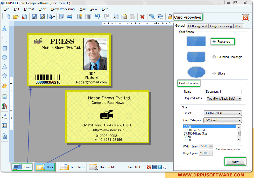 All form me id card design software free download easy maticard id card design software free download easy maticard free download direct reheart Images