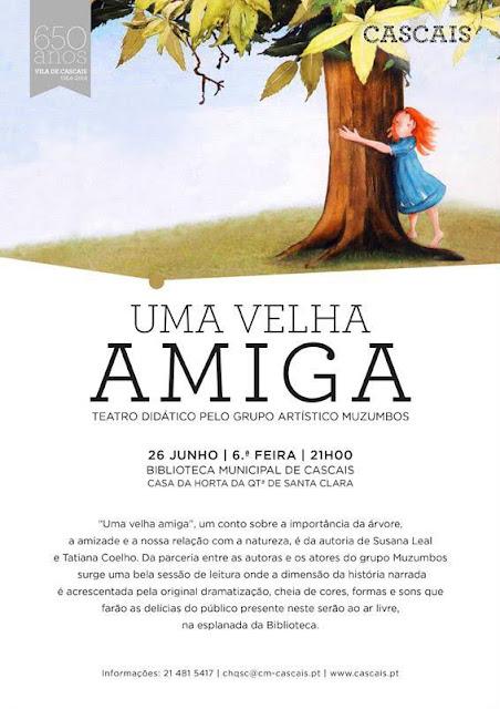 Teatro infantil na Casa da Horta em Cascais