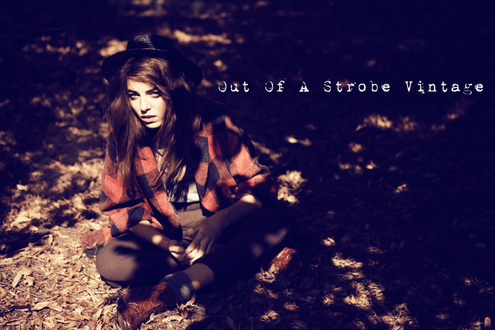 u came out of a strobe...