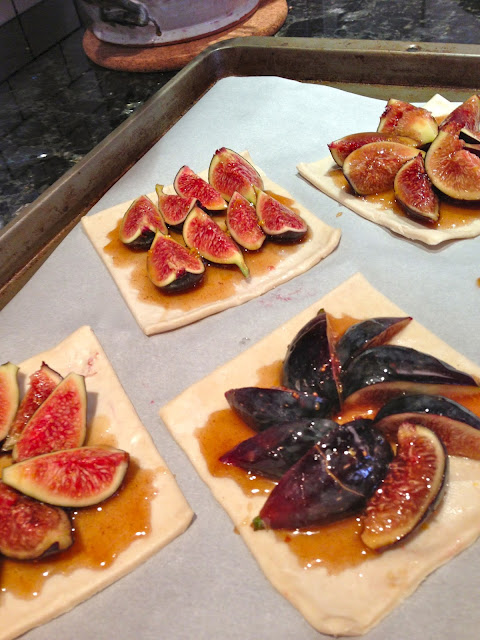 vegan fig tarts