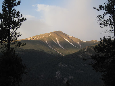 Mount Elbert, the highest mountain in Colorado