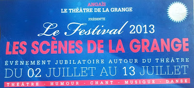 """Festival 2013 """" Les Scènes de la Grange"""""""