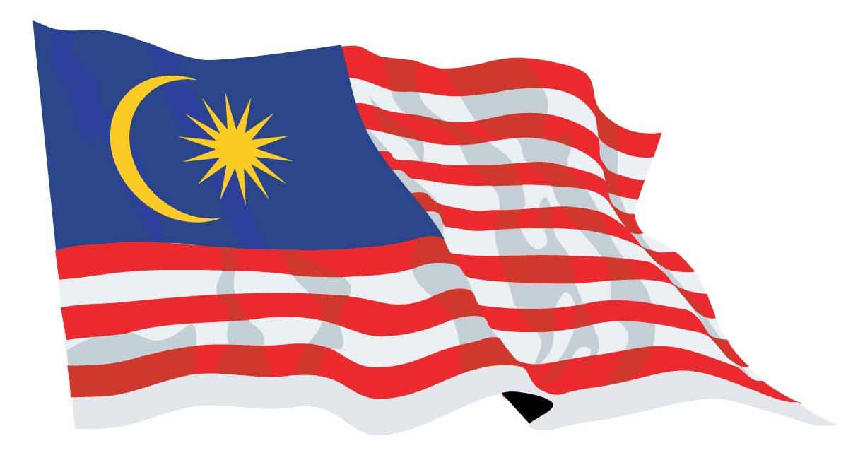 Malaysia Flag-Waving
