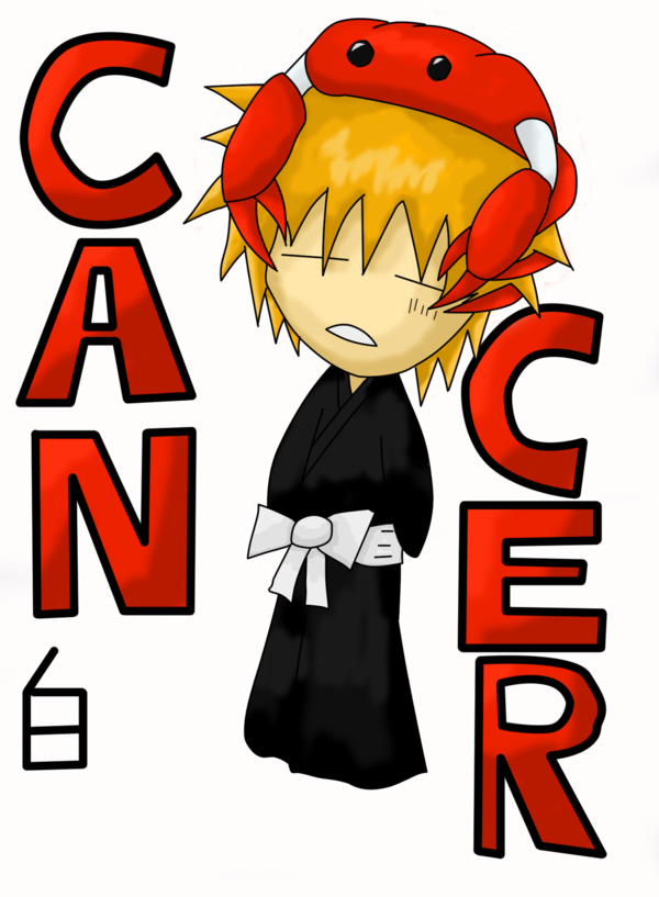 Bleach Zodiac Signs Cancer by xShirochanx