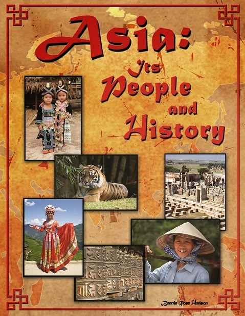 Book Cover of Asia its People ans History