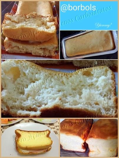 Pão de Leite Dukan sem farinha