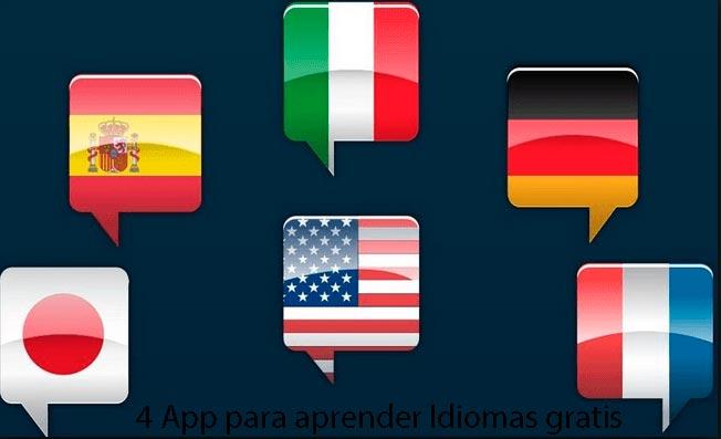 4 Aplicaciones para Aprender cualquier Idiomas desde nuestro Móvil