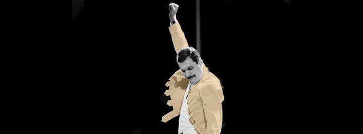 Freddy Mercury, queen, portada para facebook, biografia timeline