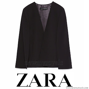 Queen Letizia Style ZARA Cape Jacket