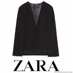 Queen Letizia Style ZARA Cape Jacket