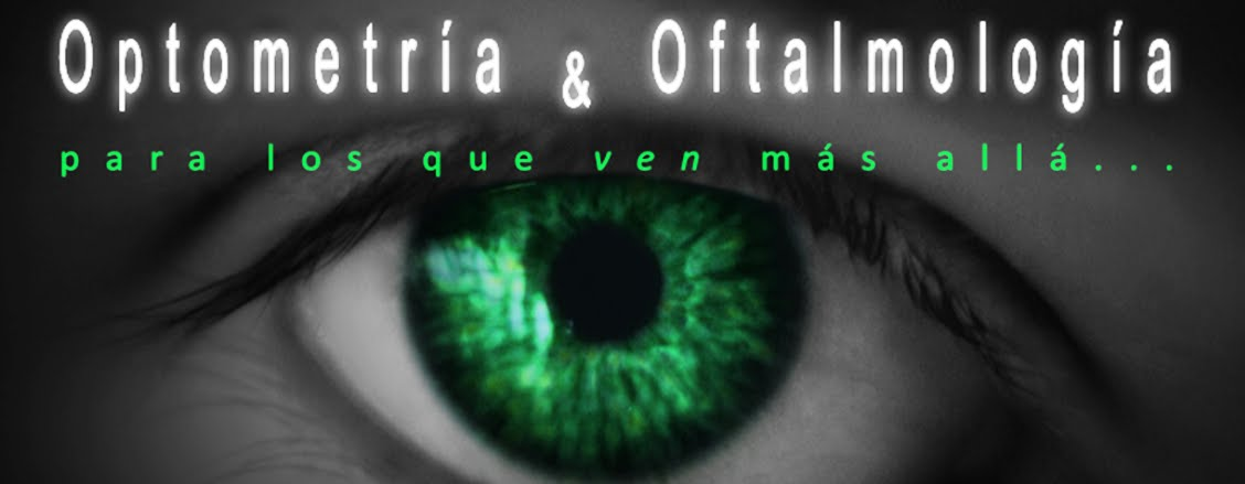 BLOG DE OPTOMETRIA Y OFTALMOLOGIA