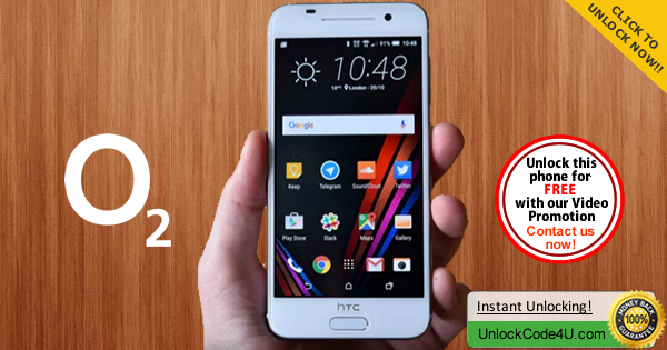 Factory Unlock Code HTC One A9 from O2