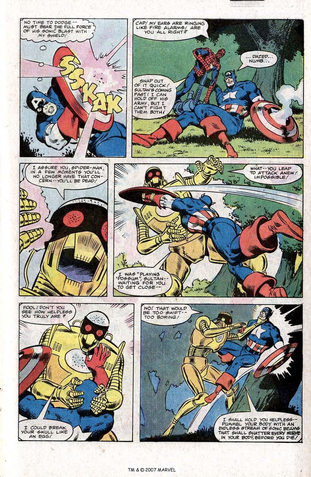 Captain America (1968) Issue #266 #181 - English 27