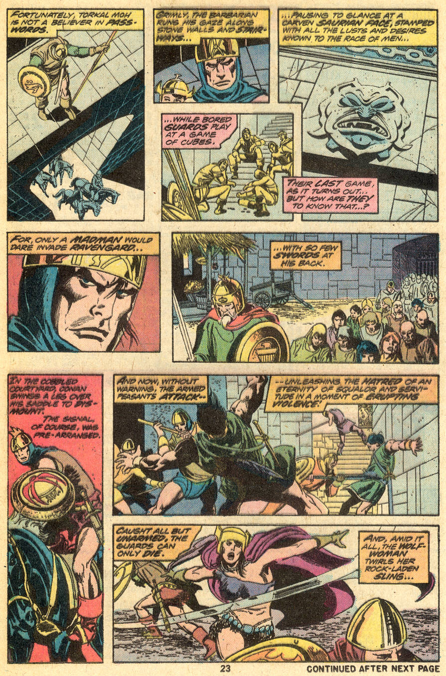 Conan the Barbarian (1970) Issue #49 #61 - English 14