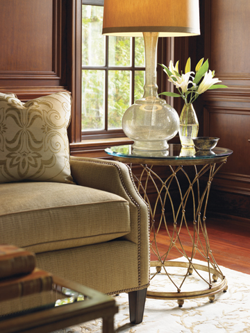 ...which Bears A Striking Resemblance To The Very Gorgeous. Cabris Accent  Table ...