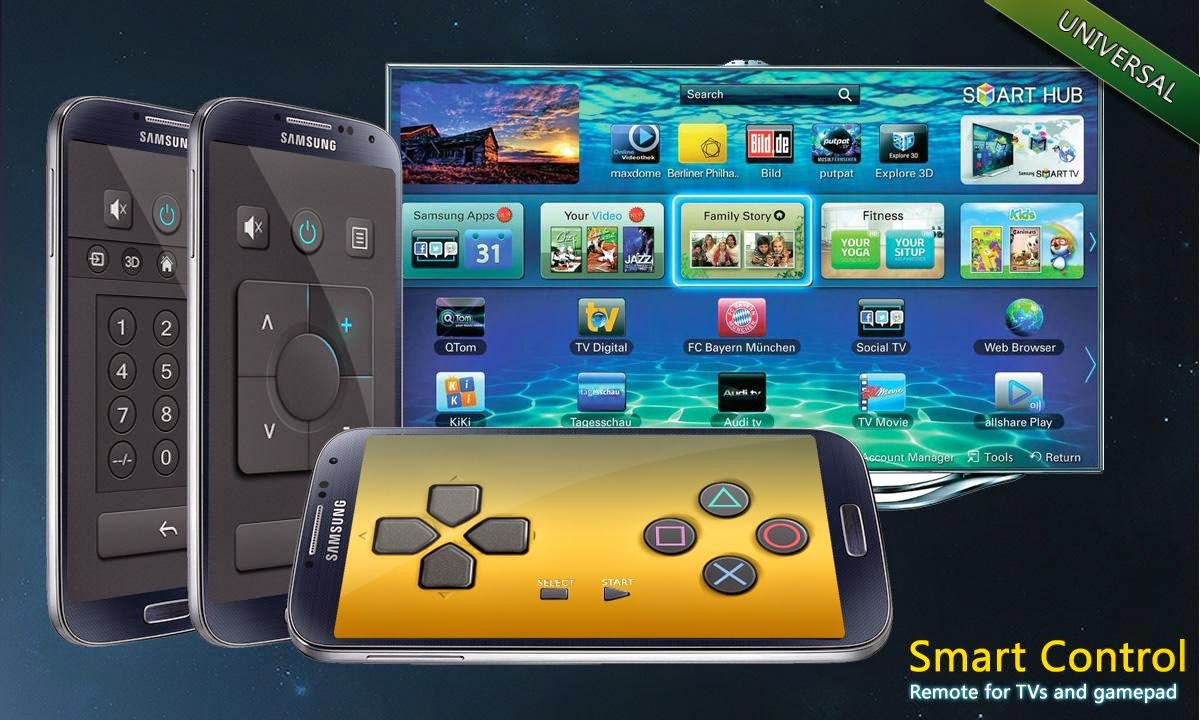 تحميل تطبيق التحكم في أجهزة التلفزيون Remote Control for TV Ultimate