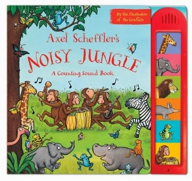 Axel Scheffler's Noisy Jungle from Campbell Books Cover