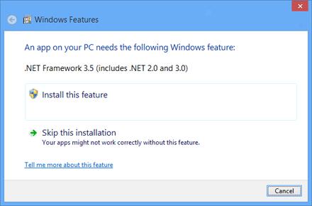 DOWNLOAD NETFRAME WORK 3.5 WINDOW 8