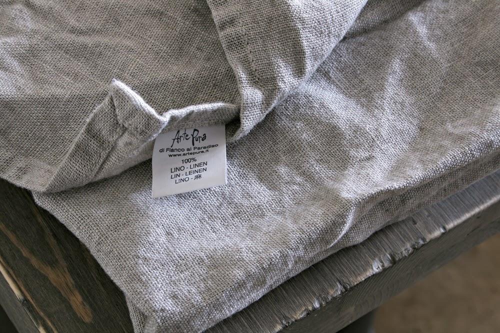 Linen Napkin, Industrial Chin, Arte Pura Linen