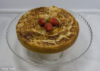 Fotografia de comida - tarte de maça