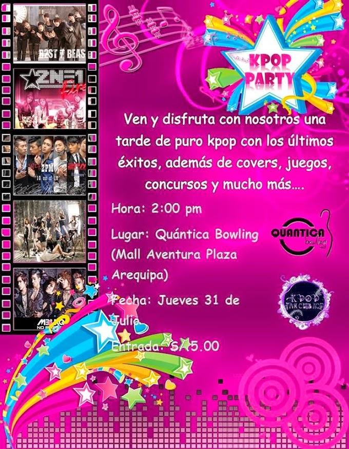 Kpop Party Arequipa 2014 - 31 de julio