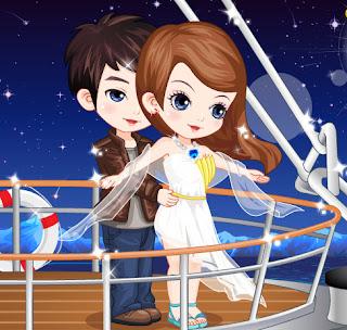 Juego de vestir a la mina del Titanic